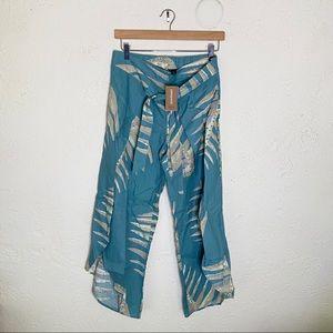 NWT Patagonia Garden Island pants palm print sz M
